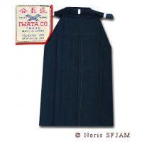 Hakama Japon IWATA musta-0