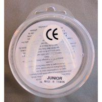 Hammassuoja, väritön yksipuolinen JUNIOR-0